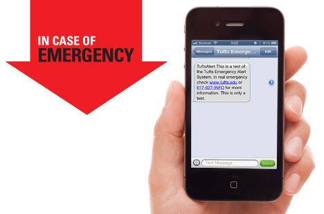 Emergency alert system test text